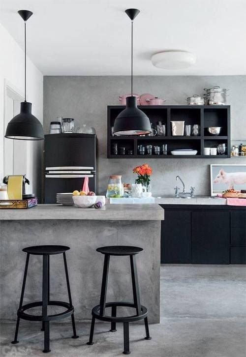 Фотография: Кухня и столовая в стиле Лофт, Декор интерьера, Аксессуары, Декор, Белый, Черный, Желтый, Серый, Бирюзовый – фото на INMYROOM