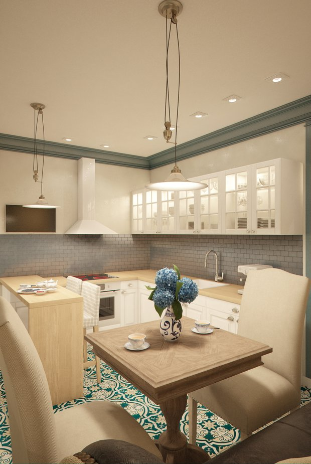 Фотография: Кухня и столовая в стиле , Квартира, Gramercy Home, Дома и квартиры, IKEA, Проект недели – фото на INMYROOM
