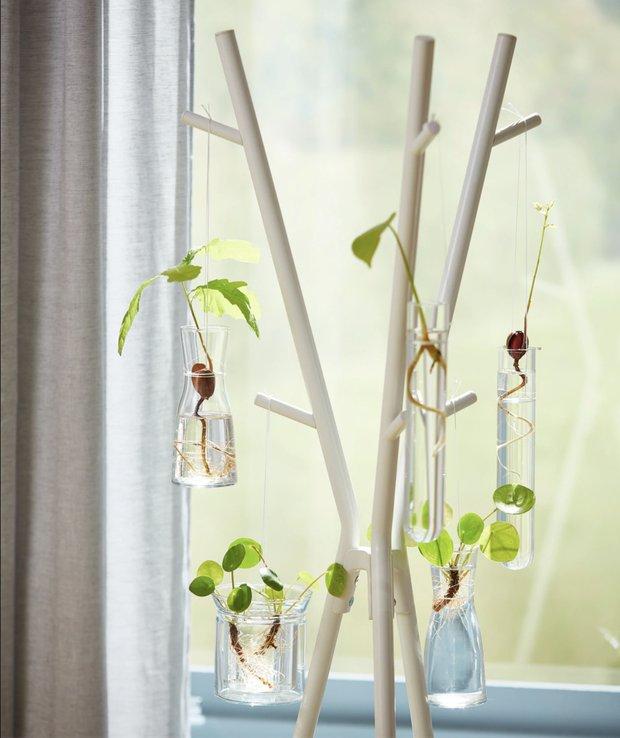 Фотография:  в стиле , Балкон, Советы, Сад, маленький сад, мини-огород на балконе, ИКЕА, идеи для сада – фото на INMYROOM