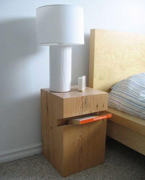 Фотография: Спальня в стиле Скандинавский, Современный, Декор интерьера, Мебель и свет, Стол – фото на INMYROOM