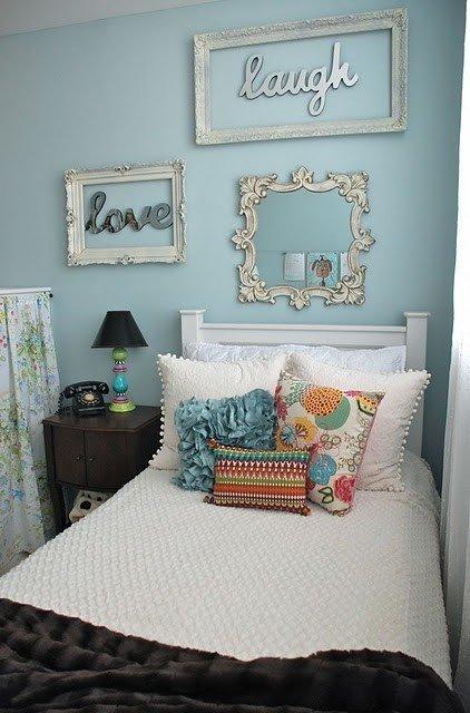 Фотография: Спальня в стиле Прованс и Кантри, Декор интерьера, Дизайн интерьера, Декор, Цвет в интерьере – фото на INMYROOM