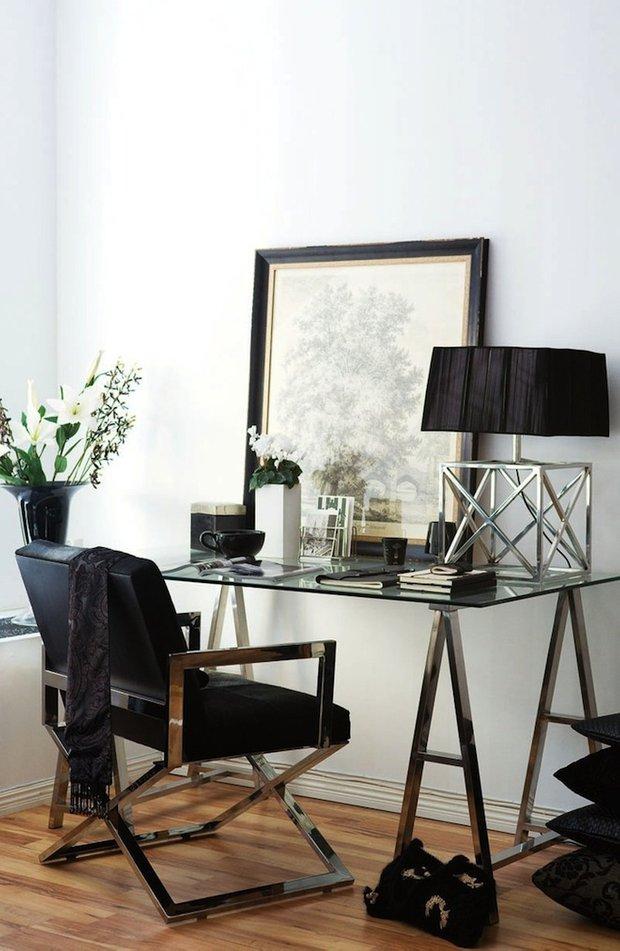 Фотография: Мебель и свет в стиле Современный, Кабинет, Скандинавский, Интерьер комнат – фото на INMYROOM