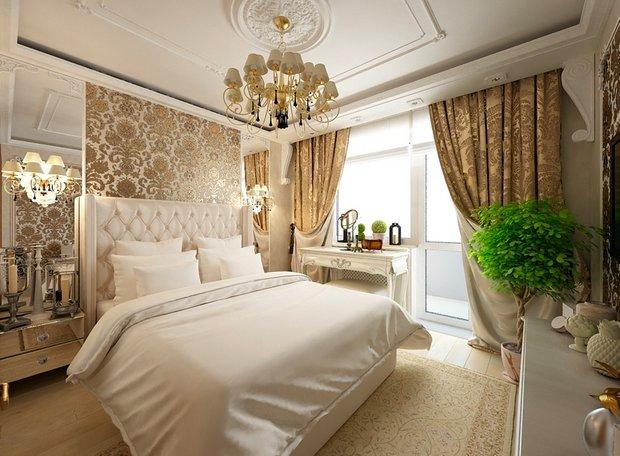 Фотография: Спальня в стиле Классический, Современный, Декор интерьера, Аксессуары, Декор, Мебель и свет, итальянская классика, интерьер в стиле итальянская классика – фото на INMYROOM
