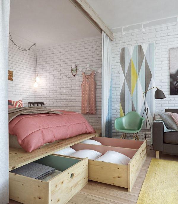 Фотография: Спальня в стиле Скандинавский, Лофт, Декор интерьера, Декор дома, Минимализм – фото на INMYROOM
