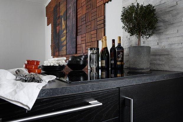 Фотография: Кухня и столовая в стиле Современный, Скандинавский, Декор интерьера, Малогабаритная квартира, Квартира, Дома и квартиры – фото на InMyRoom.ru