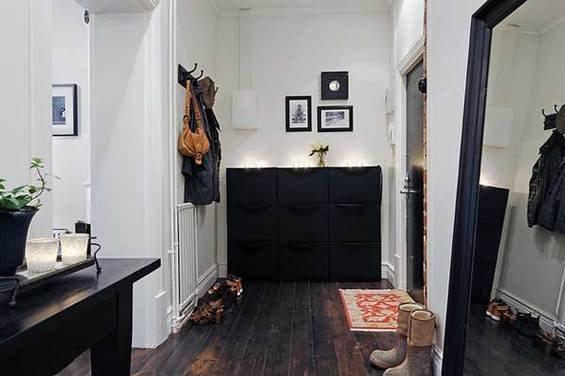 Фотография: Прихожая в стиле Скандинавский, Квартира, Швеция, Мебель и свет, Дома и квартиры, Гетеборг – фото на INMYROOM