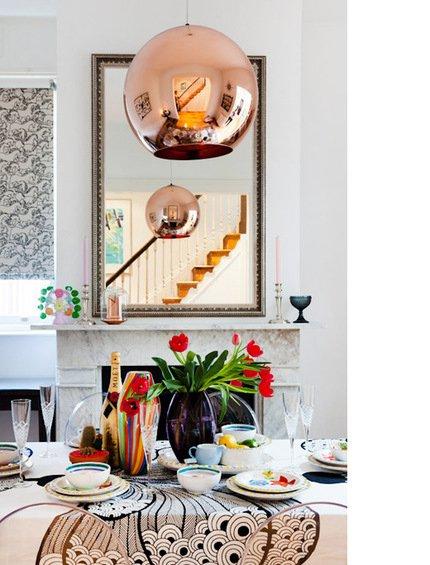Фотография: Кухня и столовая в стиле Прованс и Кантри, Декор интерьера, Дом, Цвет в интерьере, Дома и квартиры, Стены – фото на INMYROOM