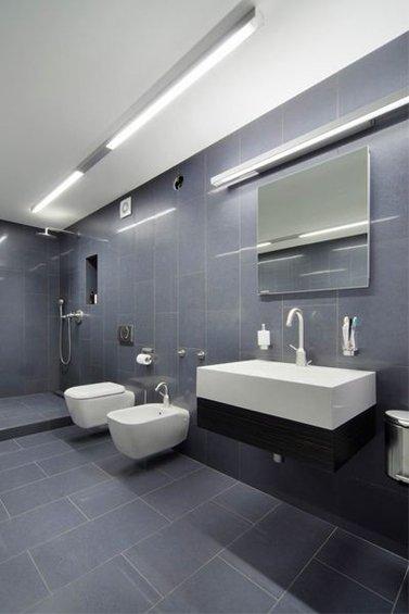 Фотография: Ванная в стиле Минимализм, Лофт, Квартира, Дома и квартиры, Градиз – фото на INMYROOM