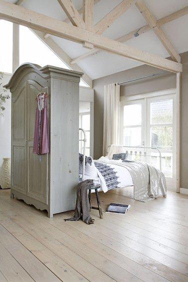 Фотография: Спальня в стиле Прованс и Кантри, Декор интерьера, Декор дома, Ширма, Перегородки – фото на INMYROOM