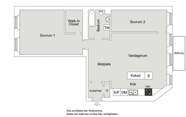 Фотография: Планировки в стиле , Скандинавский, Декор интерьера, Квартира, Швеция, Декор, Мебель и свет, Стокгольм, Серый, интерьер в скандинавском стиле, 3 комнаты, 60-90 метров, монохромный интерьер – фото на INMYROOM