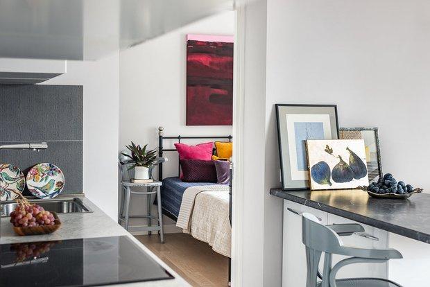Фотография:  в стиле , Спальня, Советы, спальни дизайнеров – фото на INMYROOM