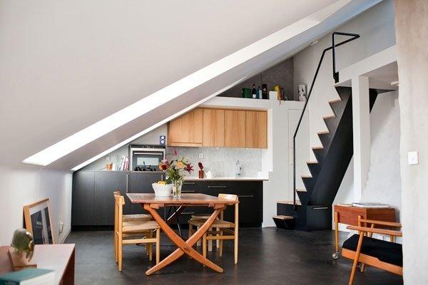 Фотография: Кухня и столовая в стиле Лофт,  – фото на INMYROOM