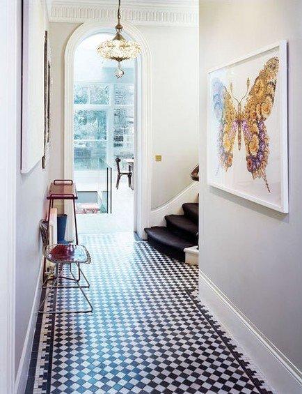 Фотография: Прихожая в стиле Скандинавский, Декор интерьера, Декор дома, Плитка – фото на INMYROOM