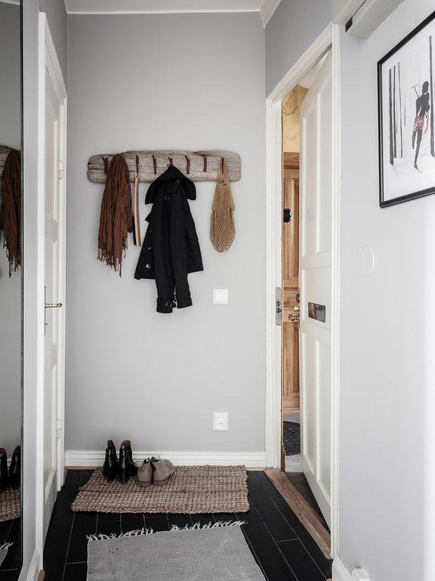 Фотография: Прихожая в стиле Скандинавский, Современный, Декор интерьера, Белый, Серый – фото на INMYROOM