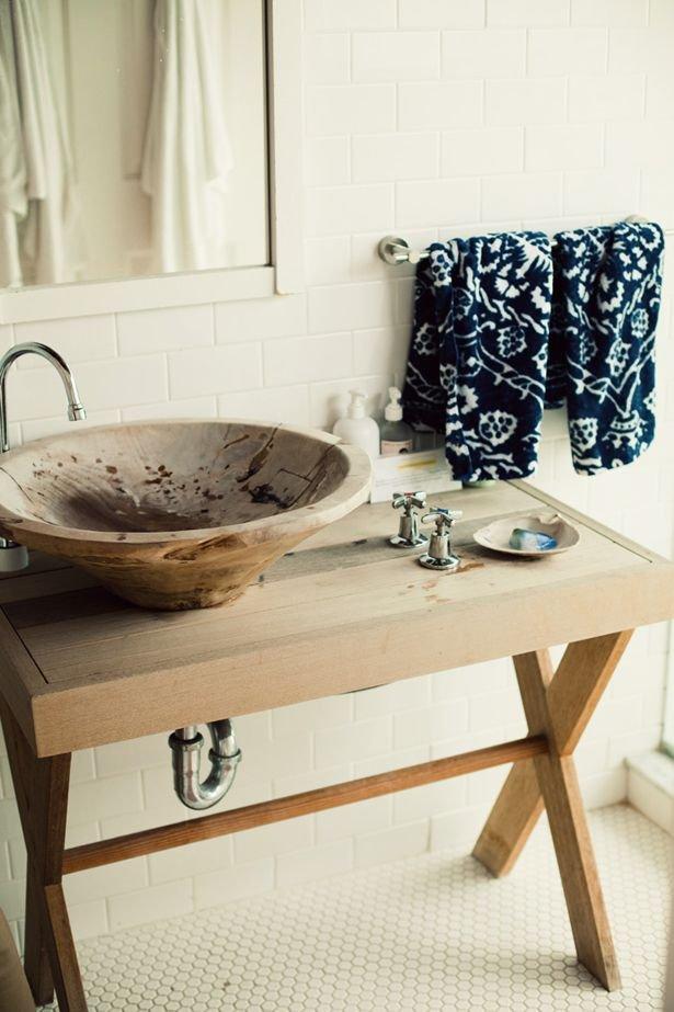 Фотография: Ванная в стиле Эко, Декор интерьера, Квартира, Декор, Советы, раковина, раковина в ванной – фото на INMYROOM
