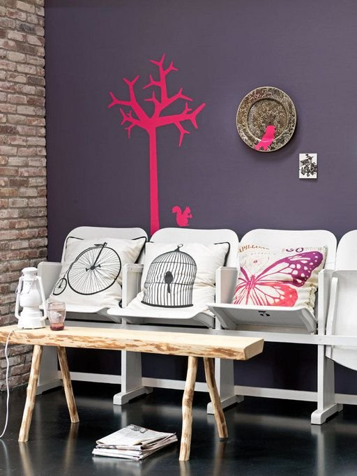 Фотография: Мебель и свет в стиле Лофт, Декор интерьера, Текстиль, Подушки – фото на InMyRoom.ru