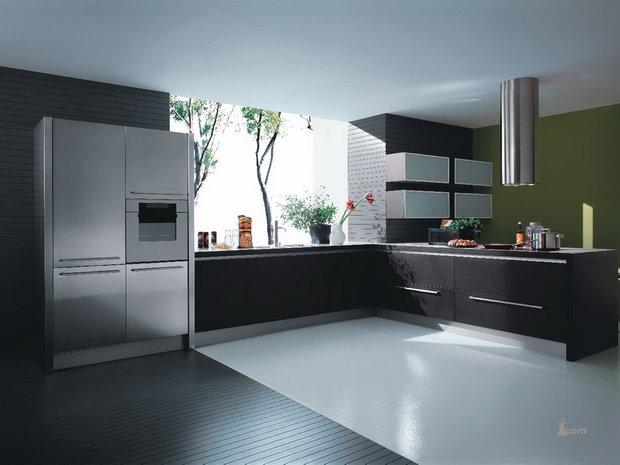 Фотография: Прочее в стиле , Кухня и столовая, Декор интерьера, Дизайн интерьера, Цвет в интерьере, Черный, Пол – фото на INMYROOM