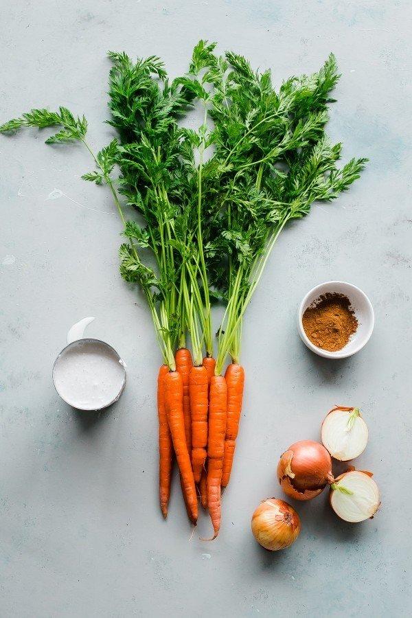 Фотография:  в стиле , Обед, Первое блюдо, Вегетарианская, Выпекание, Суп, Секреты кулинарии, Кулинарные рецепты, 45 минут, Европейская кухня, Просто, Морковь – фото на INMYROOM