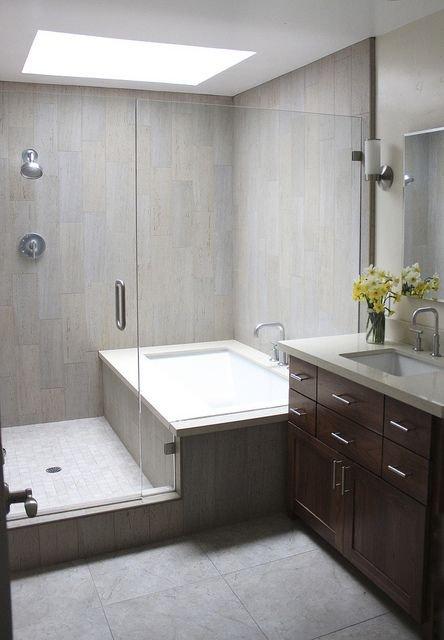 Фотография: Ванная в стиле Лофт, Минимализм, Мебель и свет, Советы, Ремонт на практике – фото на INMYROOM