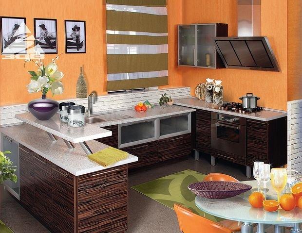 Фотография: Мебель и свет в стиле Классический, Кухня и столовая, Декор интерьера, Квартира, Дом, Декор, Оранжевый – фото на INMYROOM