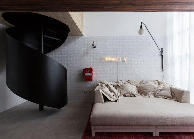 Фотография: Спальня в стиле Прованс и Кантри, Современный, Малогабаритная квартира, Квартира, Дома и квартиры – фото на INMYROOM