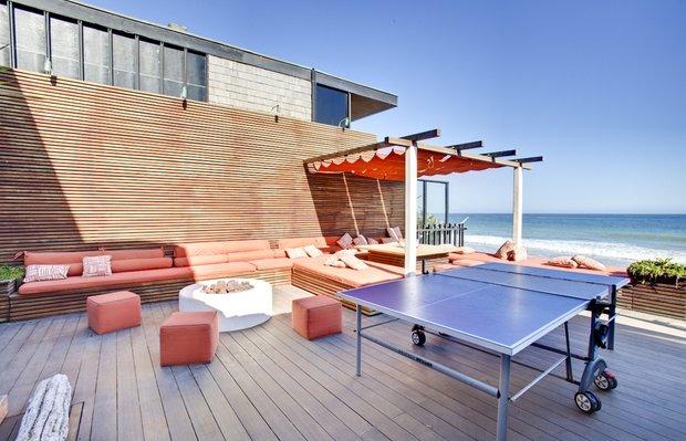 Фотография: Балкон, Терраса в стиле Современный, Дома и квартиры, Интерьеры звезд – фото на INMYROOM