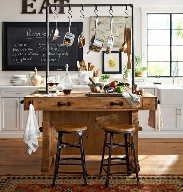 Фотография: Кухня и столовая в стиле Прованс и Кантри, Скандинавский, Современный, Советы, Ремонт на практике – фото на INMYROOM