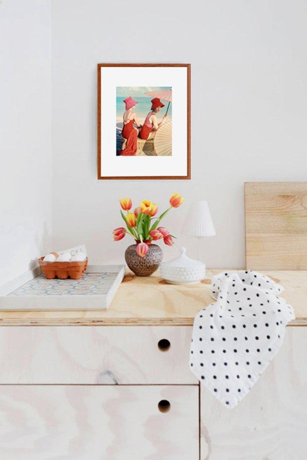 Фотография: Кухня и столовая в стиле Прованс и Кантри, Декор интерьера, Декор, Декор дома, Современное искусство – фото на INMYROOM