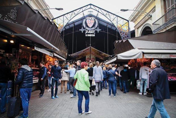 Фотография:  в стиле , Барселона, Обзоры, Boqueria , рынки – фото на INMYROOM