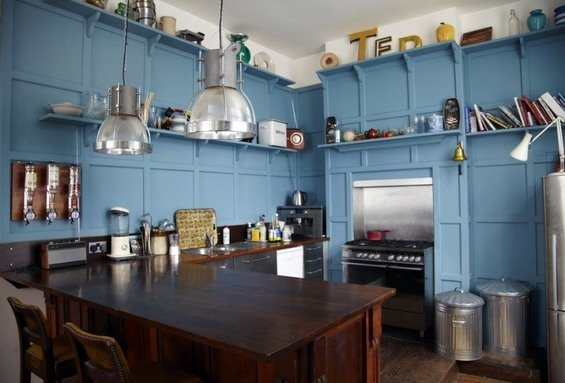 Фотография: Кухня и столовая в стиле Прованс и Кантри, Скандинавский, Дом, Дома и квартиры, Лондон – фото на INMYROOM