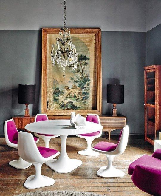 Фотография: Гостиная в стиле Эклектика, Декор интерьера, Дом, Аксессуары, Мебель и свет – фото на INMYROOM