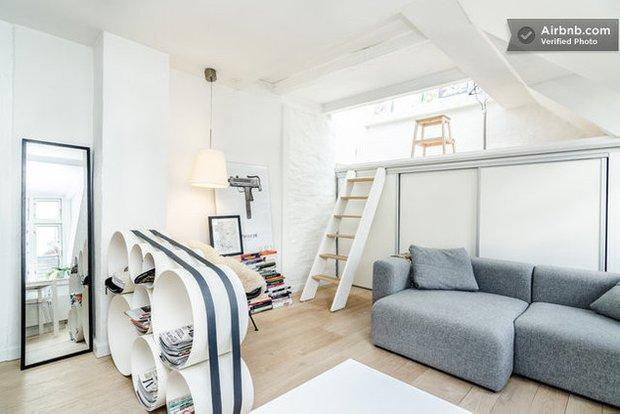 Фотография: Гостиная в стиле Прованс и Кантри, Современный, Airbnb – фото на INMYROOM