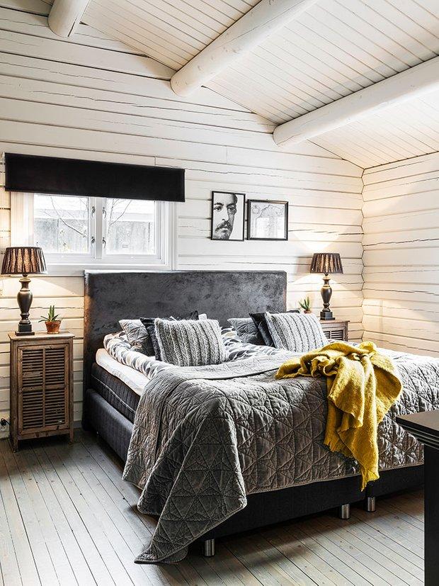 Фотография: Спальня в стиле Скандинавский, Декор интерьера, Швеция, Дом и дача – фото на InMyRoom.ru