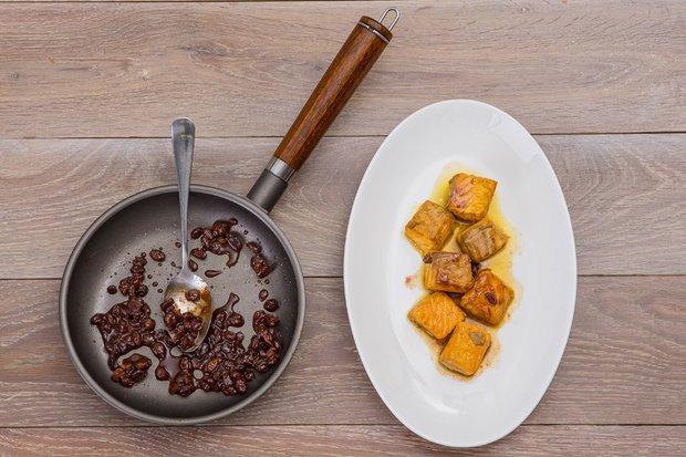 Фотография:  в стиле , Обед, Ужин, Основное блюдо, Жарить, Рыба, Восточная кухня, Кулинарные рецепты, 15 минут – фото на INMYROOM