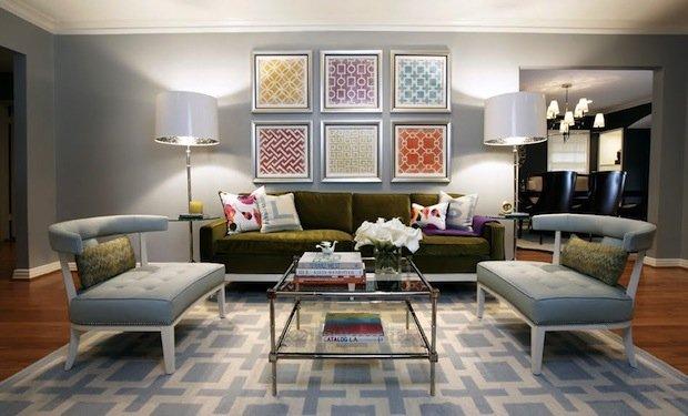 Фотография: Гостиная в стиле Эклектика, Декор интерьера, DIY, Переделка – фото на INMYROOM