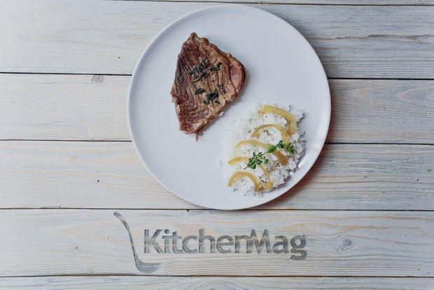 Фотография:  в стиле , Обед, Ужин, Основное блюдо, Выпекание, Мясо, Кулинарные рецепты, 2 часа, Пришли гости, Это вкусно, Готовит KitchenMag, Европейская кухня, Мясные блюда, Вкусные рецепты, Домашние рецепты, Пошаговые рецепты, Новые рецепты, Рецепты вторых блюд, Рецепты с фото, Как приготовить мясо?, Как приготовить вкусно?, Средняя сложность – фото на INMYROOM