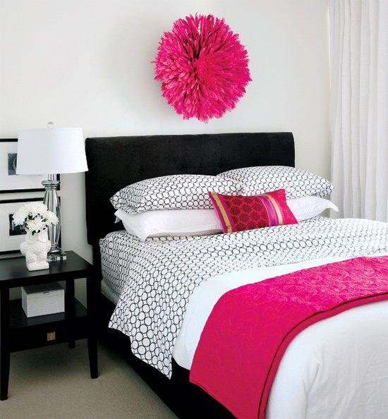 Фотография: Спальня в стиле Классический, Современный, Декор интерьера, Интерьер комнат, Цвет в интерьере – фото на InMyRoom.ru
