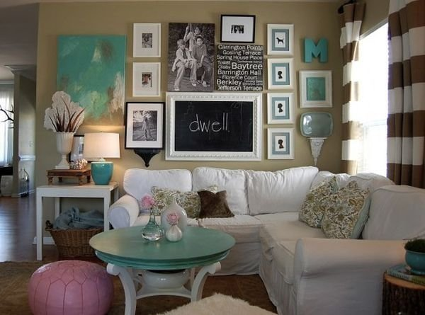 Фотография: Гостиная в стиле Прованс и Кантри, Декор интерьера, Дом, Аксессуары, Мебель и свет – фото на INMYROOM