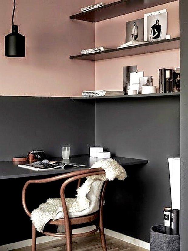 Фотография: Кабинет в стиле Скандинавский, Вдохновение – фото на INMYROOM