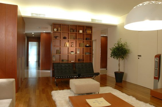 Фотография: Гостиная в стиле Современный, Эко, Квартира, Дома и квартиры – фото на INMYROOM
