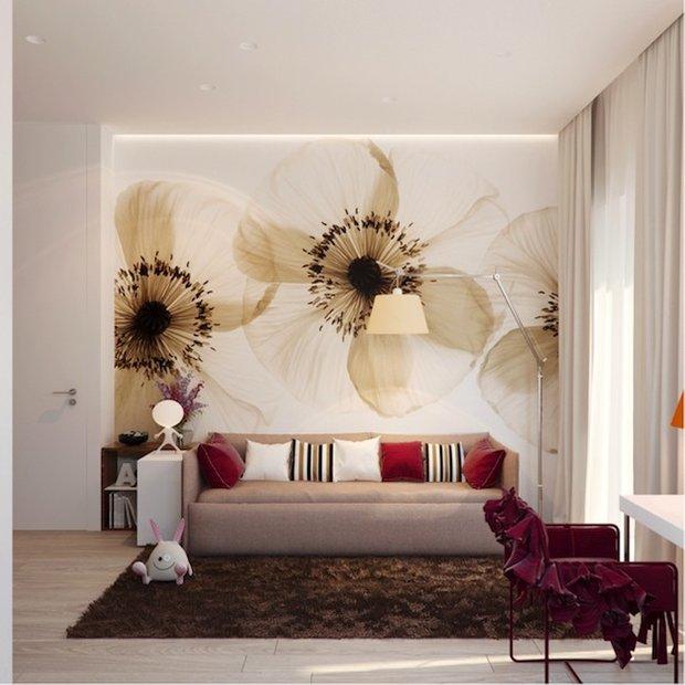 Фотография: Гостиная в стиле Современный, Детская, Интерьер комнат, Декор – фото на INMYROOM