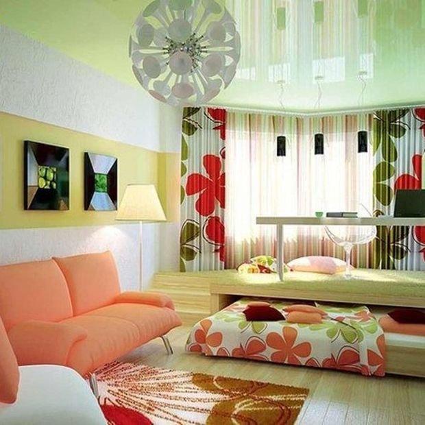 Фотография: Гостиная в стиле , Декор интерьера, Малогабаритная квартира, Квартира, Студия, Планировки, Мебель и свет – фото на INMYROOM