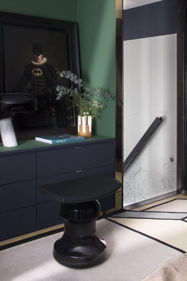 Фотография: Мебель и свет в стиле Современный, Гостиная, Эклектика, Декор интерьера, Франция, Зеленый, Желтый, Коричневый, Лион, Клод Картье – фото на INMYROOM