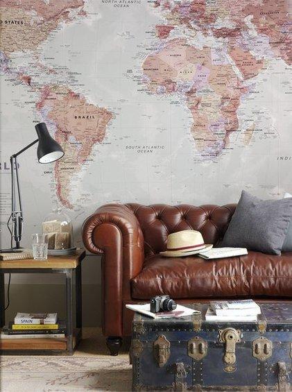 Фотография: Гостиная в стиле Прованс и Кантри, Декор интерьера, DIY, Дом – фото на InMyRoom.ru