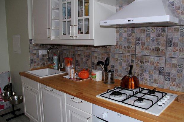 Фотография: Кухня и столовая в стиле Прованс и Кантри, Скандинавский, Современный, Квартира, HOFF, Дома и квартиры, IKEA – фото на INMYROOM