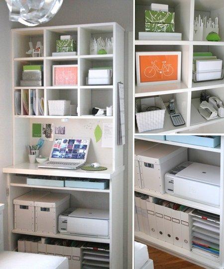 Фотография: Гостиная в стиле Лофт, Кабинет, Интерьер комнат, Системы хранения – фото на INMYROOM
