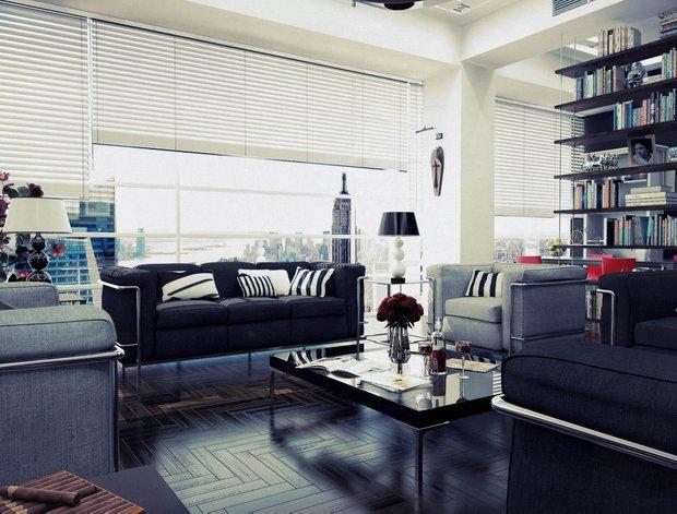 Фотография: Гостиная в стиле Современный, Интерьер комнат, Советы – фото на INMYROOM