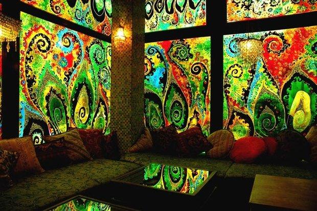 Фотография:  в стиле Современный, Восточный, Декор интерьера, Декор дома, Ковер – фото на InMyRoom.ru