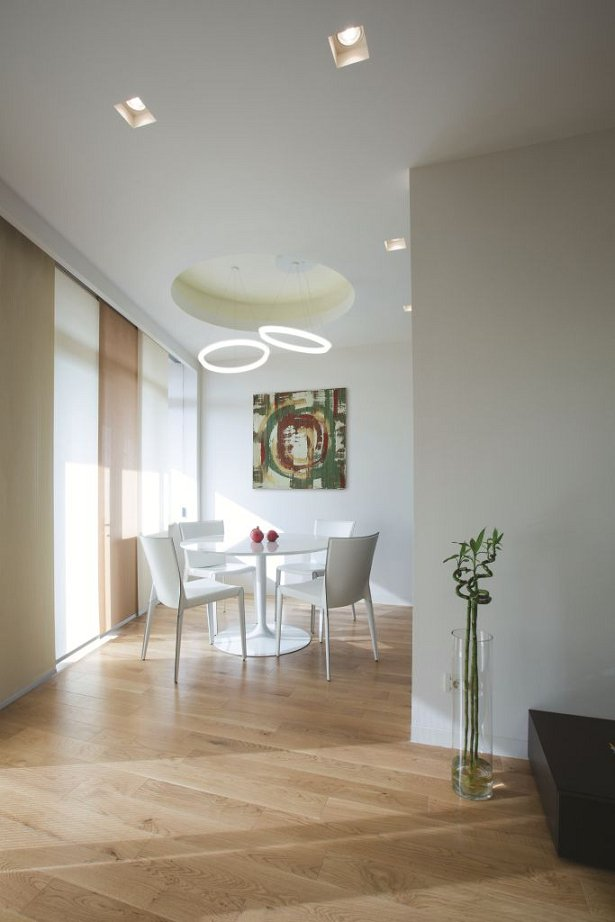 Фотография: Кухня и столовая в стиле Хай-тек, Квартира, Дома и квартиры, Проект недели, Перепланировка – фото на INMYROOM