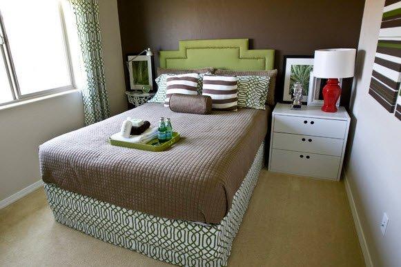 Фотография: Спальня в стиле Скандинавский, Восточный, Интерьер комнат – фото на INMYROOM